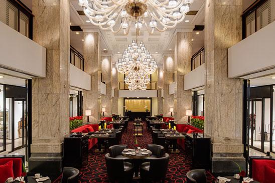 Shangai restaurant atelier of jo l robuchon le monde - Salon de joel robuchon ...